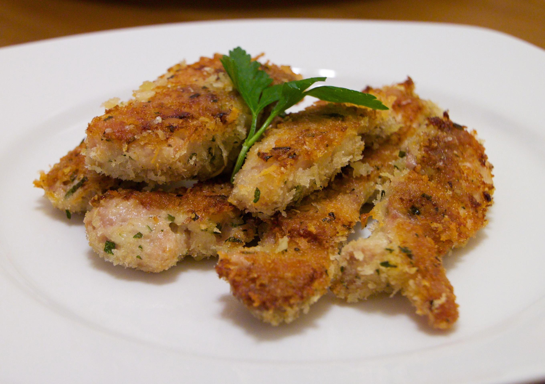 Chicken garlic strip recipe are