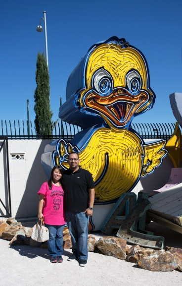 Bryan and I with Ducky sign