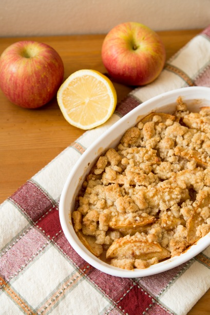 Apple Crumbles 3