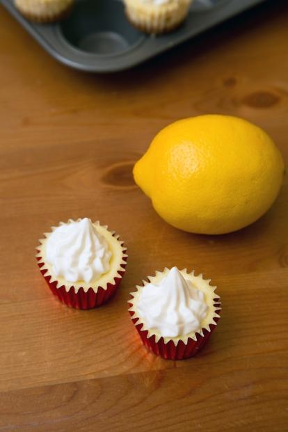 Mini Lemon Cheesecakes 1
