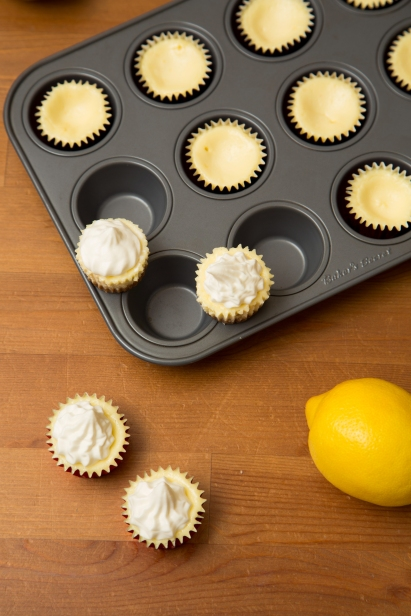 Mini Lemon Cheesecakes 2